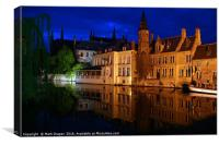 In Bruges, Canvas Print