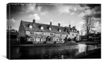 Bourton On The Water, Canvas Print