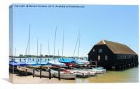 Bosham Harbour & Sailing Club, Canvas Print