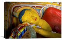 Buddhas rest, Canvas Print