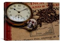 Timepiece, Canvas Print