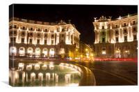 Piazza della Repubblica, Canvas Print