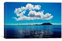 Lobos Island, Canvas Print
