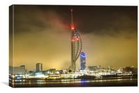 spinnaker tower portsmouth, Canvas Print