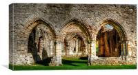 netley abbey, Canvas Print