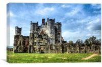titchfield abbey ruin, Canvas Print