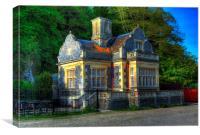 Arundel wetlands tea house, Canvas Print