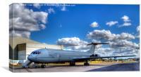 RAF Vickers VC-10, Canvas Print