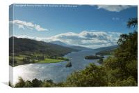 Queens View, Pitlochry, Canvas Print