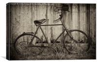 Vintage Bicycle, Canvas Print