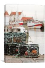 Pittenweem Harbour., Canvas Print