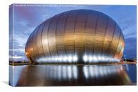 Glasgow Imax, Canvas Print