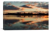 Trossachs sunrise, Canvas Print
