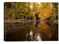 Autumn at the Hermitage., Canvas Print