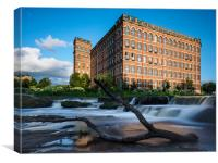 Anchor Mill, Paisley., Canvas Print