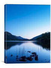Loch Voil, The Trossachs, Scotland., Canvas Print