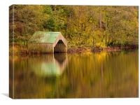 Autumn at Loch Ard, Canvas Print