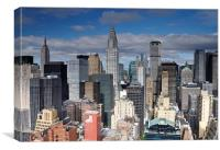 Midtown Manhattan, Canvas Print
