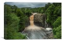 High Force Waterfall, Canvas Print