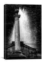 Fountain of Light, Canvas Print