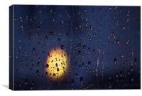 Rainy Evening 2, Canvas Print