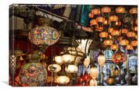 Turkish Lanterns, Canvas Print