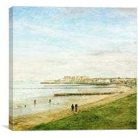 Minnis Bay, Kent, Canvas Print