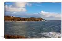 Langland Bay Gower, Canvas Print