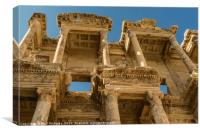 Library of Celsus in Ephesus, Canvas Print