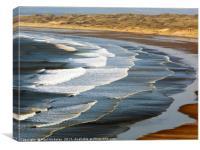 Rhossili Bay, Gower, Swansea, Canvas Print