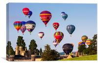 Bristol Balloon Fiesta, Canvas Print