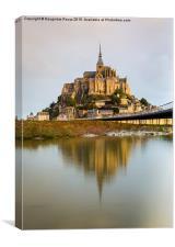 Le Mont Saint-Michel, Canvas Print