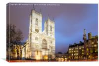 Westminster Abbey, London, UK, Canvas Print