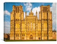 Wells Cathedral, Canvas Print