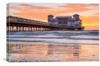 The Grand Pier, Weston-Super-Mare at Sunset, Canvas Print
