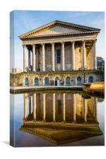 Birmingham Town Hall reflection, Canvas Print