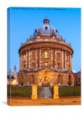 Radcliffe Camera at dusk, Oxford, UK, Canvas Print