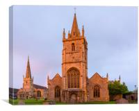 Evesham abbey, Canvas Print
