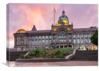 Birmingham Council House, Canvas Print