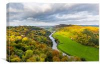 Autumnal Symmonds Yat, UK, Canvas Print