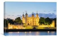 London Tower, Canvas Print