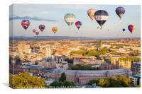 Bristol Balloon Fiesta, Canvas Print