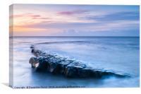The Rock, Kilve Beach, Canvas Print
