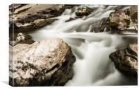 River stream, Canvas Print
