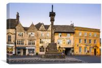 The Square, Stow-on-the-Wold, Canvas Print