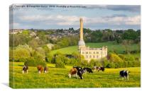 Bliss Tweed Mill, Chipping Norton, Canvas Print