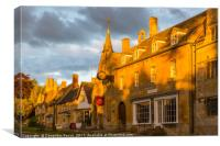 Broadway Town, Cotswolds, Canvas Print