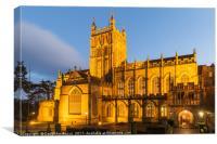 Great Malvern Priory, Canvas Print