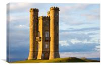 Broadway Tower, Canvas Print