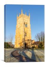 Evesham Bell Tower, Canvas Print